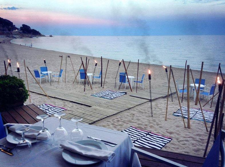 Restaurant Banys Lluis Sant Pol De Mar